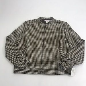 Michael Kors Houndstooth Jacket